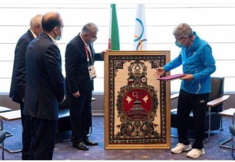 فرشی که هنر ایران را به المپیک شناساند