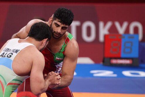 محمدهادی ساروی به مدال برنز المپیک رسید