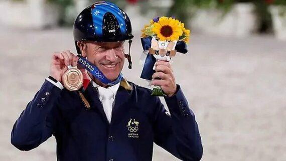 مسن ترین مدال آور استرالیا در المپیک با ۶۲ سال سن