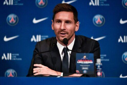 مسی در مراسم معارفه: رویای من قهرمانی در لیگ قهرمانان اروپا است/منتظر رویارویی با بارسلونا هستم