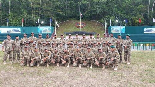 مقام سوم تیم دریابرد نیروی دریایی سپاه در مسابقات نظامیان در روسیه