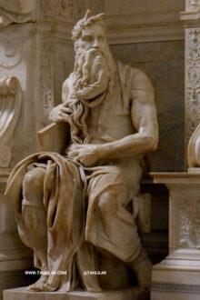 میکل آنژ- پیکره موسی
