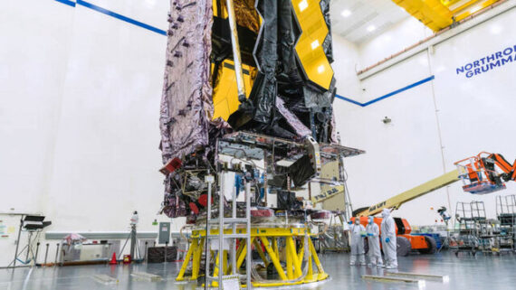 ناسا در تدارک پرتاب تلسکوپ جیمز وب