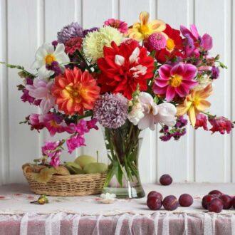 نگهداری دسته گل طبیعی