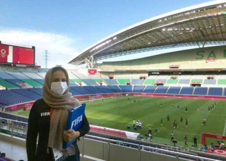 پریا شهریاری ناظر فینال المپیک توکیو شد