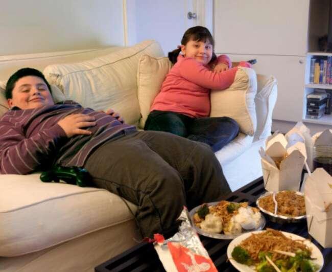 چاقی کودکان