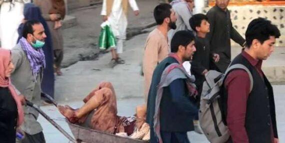کشته های انفجار کابل به 170 نفر رسید