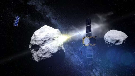 کشف ۲ سیارک سرخ شگفت انگیز