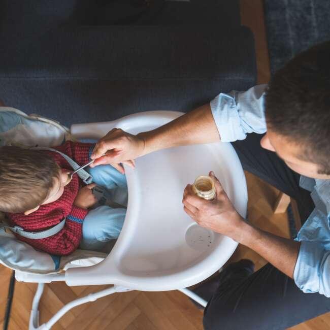 گرم کردن غذای کودک در مایکروویو