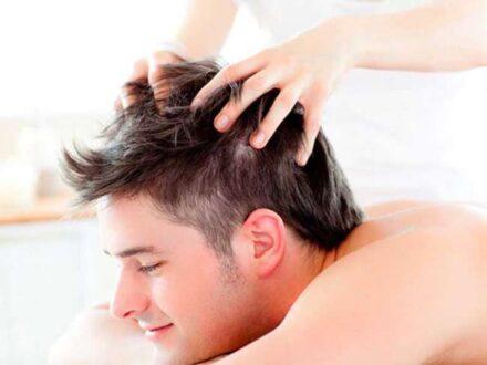تاثیر ماساژ سر برای رشد مو