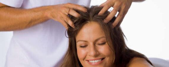 تاثیر ماساژ سر برای رشد مو - ماساژ سر برای رشد مجدد مو