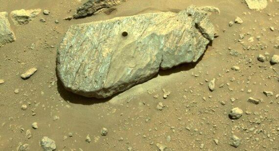 استقامت آماده نمونه برداری مجدد از مریخ