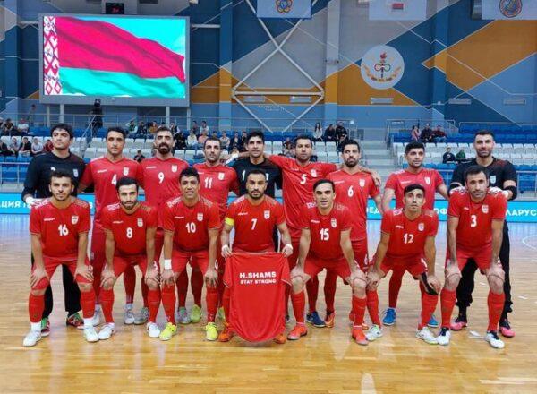 اولین جدال ایران در جام جهانی فوتسال ۲۰۲۱