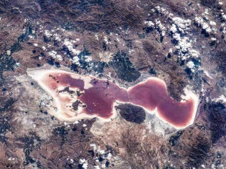 تصویر فضایی خلیج فارس از لنز دوربین فضانوردان چینی