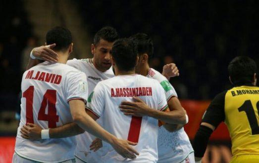 تمجید سایت آرژانتینی از گل کاپیتان تیم ملی فوتسال ایران