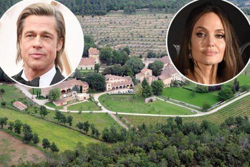دعوای آنجلینا جولی و برد پیت بر سر عمارت ۱۶۲ میلیون دلاری