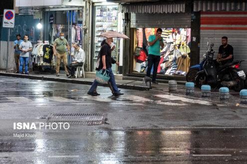 رگبار باران و رعدوبرق در برخی استان های کشور
