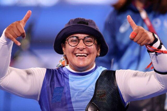 زهرا نعمتی به مدال طلای پارالمپیک رسید