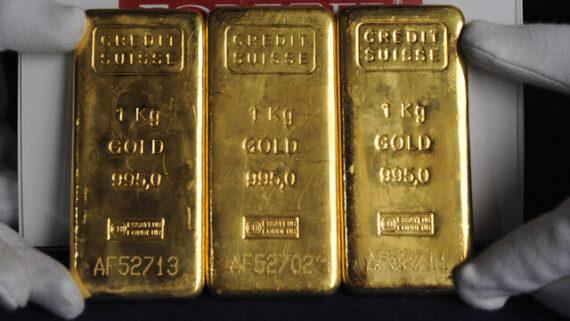صعود ملایم طلا در بازار جهانی