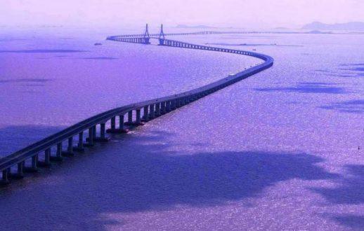 طولانی ترین پل جهان The Danyang-Kunshan Grand Bridge