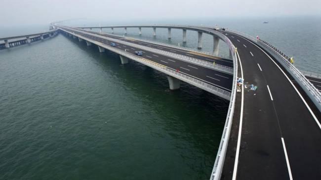 طولانی ترین پل جهان Weinan Weihe Grand Bridge