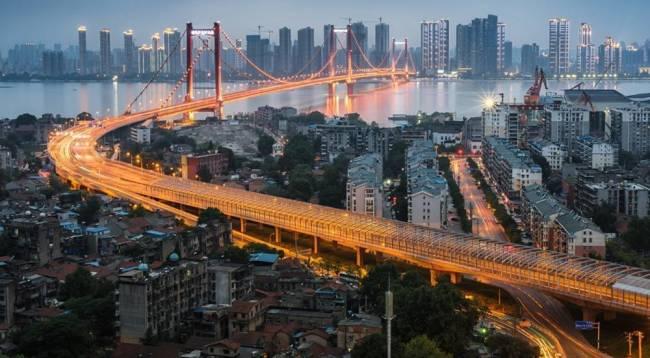 طولانی ترین پل جهان Wuhan Metro Bridge