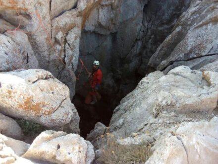 عجایبی از دومین غار عمیق ایران