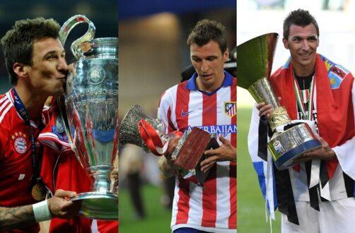 ماریو مانژوکیچ از فوتبال خداحافظی کرد