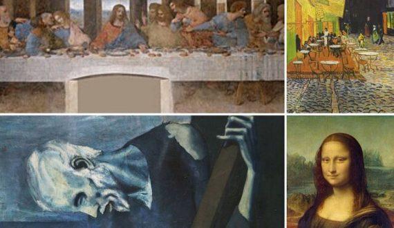 مرموزترین نقاشی های جهان