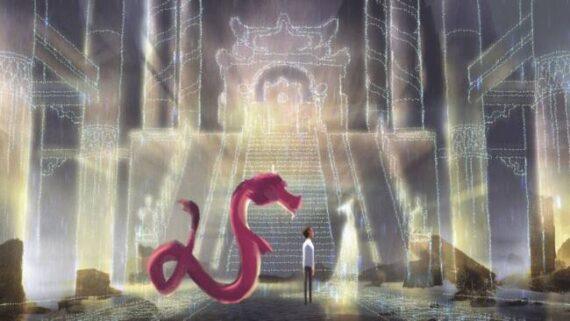 معرفی انیمیشن اژدهای آرزوها 2021 ( Wish Dragon ) 4