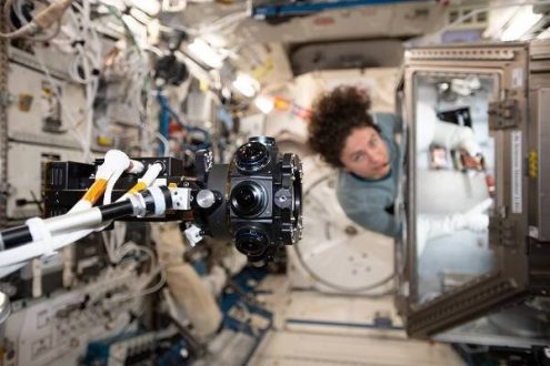 نقش پر رنگ فناوری واقعیت مجازی در ایستگاه فضایی بین المللی