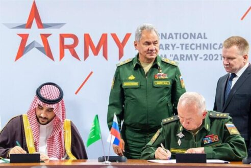 همکاری نظام عربستان و روسیه