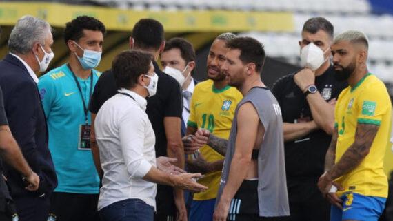 واکنش رئیس فیفا به اتفاقات جنجالی دیدار سوپرکلاسیکو