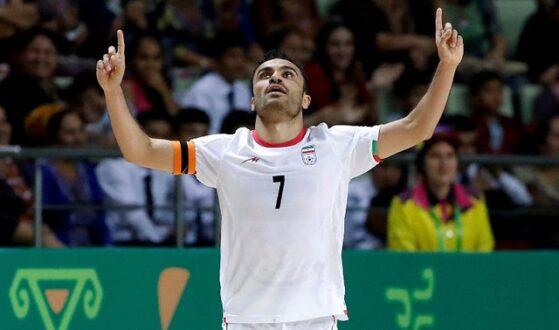 کاپیتان تیم ملی فوتسال در آستانه خلق یک رکورد
