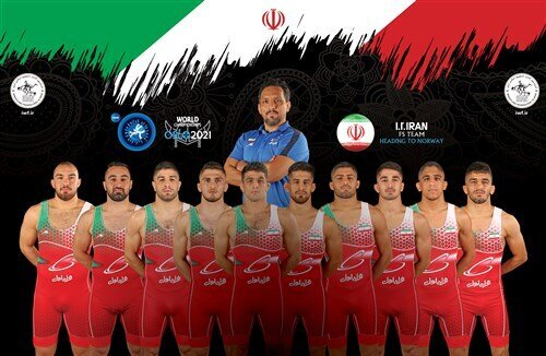 تیم ملی کشتی آزاد ایران سوم جهان شد