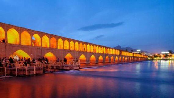 عکس سی و سه پل اصفهان