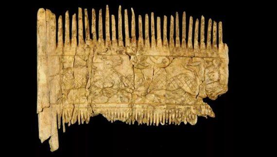 شانه ای که بیش از هزار سال قدمت دارد