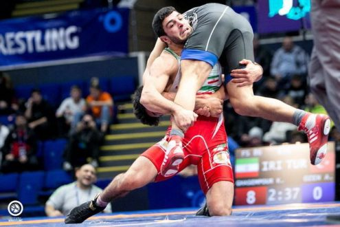 صعود هر ۴ آزادکار ایران به نیمه نهایی قهرمانی جهان