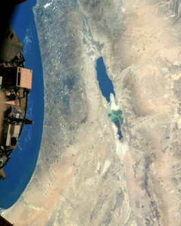 عکس فضانورد مقیم ایستگاه فضایی از «پستترین نقطه زمین»