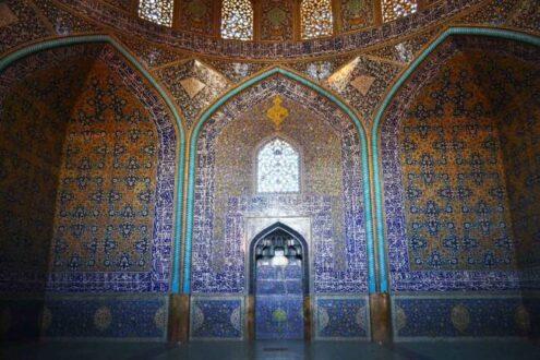 محراب مسجد شیخ لطف الله
