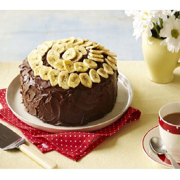 کیک خیس موزی