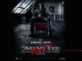 Johnny Depp in 2007 Sweeney Todd  The Demon Barber of Fleet Street Wallpaper 3 280x210 - معرفی فیلم سویینی تاد : آرایشگر شیطان صفت خیابان فلیت