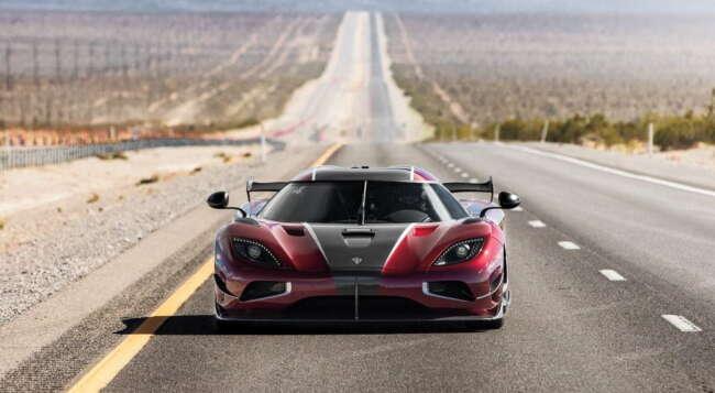 سرعت خودرو و سریع ترین خودروها