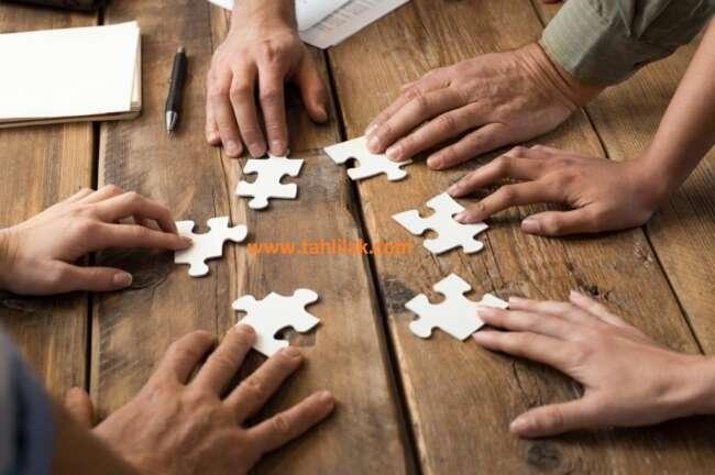 Teamwork - ایده های خوب برای یک استارتاپ موفق حاصل تلاش گروهی است