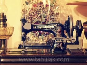 sewing machine 1 280x210 - آموزش کشیدن الگوی دامن ۴ ترک