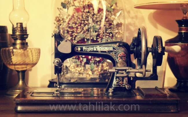 sewing machine - آموزش الگو لباس زنانه بدون آستین به روش مولر (قسمت سوم)